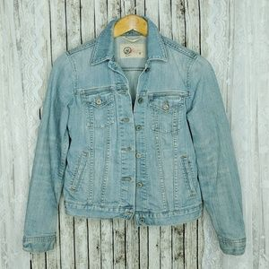 GAP Classic Lightwash Jean Jacket Sz S